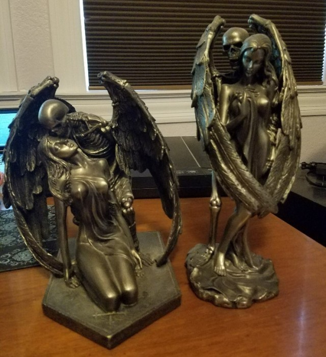 skeleton angels